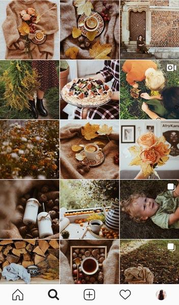 flatlay diseño grafico instagram en one room estudio